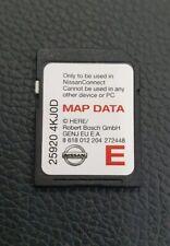 GENUINE NISSAN CONNECT LCN2 KAI SAT NAV NAVIGATION SD CARD LATEST 25920-4KJ0D
