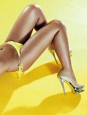 Super Sexy Doppel Plateau Pumps High Heels Gold 43 Strass Bettschuhe GoGo Pole