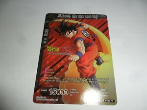 DRAGON BALL SUPER CARD GAME   KAKAROT THE ONE AND ONLY  FOIL  P-187 PR