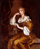 SIR PETER LELY PORTRAIT OF MRS CHARLES BERTIE ARTIST PAINTING REPRODUCTION OIL