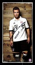 Mario Götze Autogrammkarte Bayern München 2013-14 Original Signiert+ C 2779