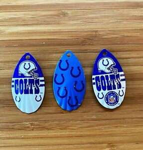 NFL Indianapolis Colts Football Decorative Fridge Magnets 3 Pack