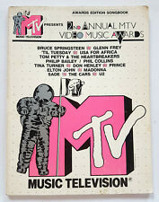 VINTAGE 2nd Annual (1985) MTV Video Music Awards Edition Songbook PAPERBACK
