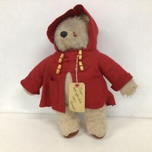 Vintage Paddington Bear Red Coat No Hat or Boots #209