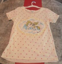 My Little Pony Vintage Fairy Kei Shirt G1 Stars Size M Lace Kawaii Glitter