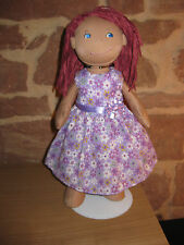 Puppenkleidung, Kleid, Puppe 38cm, neu, Stoffpuppe, (ohne Haba Puppe), 1952