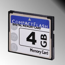 High Speed 4GB 4 GB Compact Flash Memory Compactflash CF Card for DSLR HD Camera