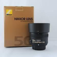 Nikon AF-S Nikkor 50mm f/1.8 G Lens, 2 yrs wrt
