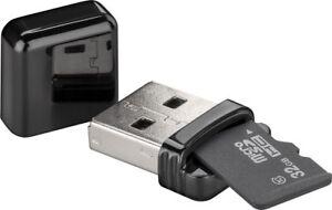 Mini HighSpeed Micro SD SDHC SDXC T-Flash USB Kartenleser Reader Kartenlesegerät