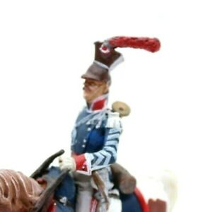 Mounted Toy soldier & Artillery Russian Light Cavalry JITOMIRSKY UHLAN Trumpeter