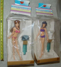 NEW SEGA UFO PRIZES  Love Hina Again HG Summer Figures NARU & KANAKO, USA SELLER
