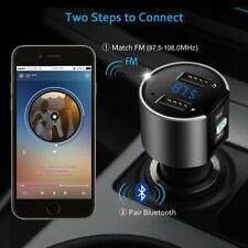 Bluetooth Wireless Car Kit Fm Transmitter Radio Mp3 Audio Player Usb Charger Us (Fits: Mazda 626)