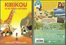 DVD - KIRIKOU ET LES BETES SAUVAGES / COMME NEUF /DESSIN ANIME A PARTIR DE 3 ANS