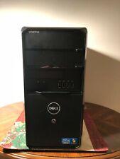 Dell Vostro 460 Mini Tower Pc Computer Core i5 3.3 Ghz Working Good Condition