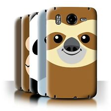 STUFF4 Back Case/Cover/Skin for HTC Desire HD/G10/Cartoon Animal Faces