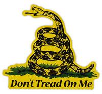 Magnetic Bumper Sticker - Don't Tread On Me - Gadsden Flag, Coiled Snake