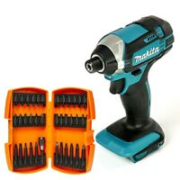 Makita DTD152 18V LXT Impact Driver With 36 Piece Screwdriver Bit Set