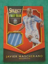 2015 Panini Select Soccer: Javier Mascherano Argentina Jersey Trikot Shirt