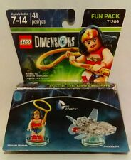 NEW LEGO DIMENSIONS FUN PACK DC Comics WONDER WOMAN INVISIBLE JET 71209