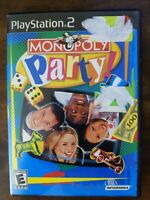 USED (Complete) - Monopoly Party (Sony PlayStation 2, 2002) - Free Shipping