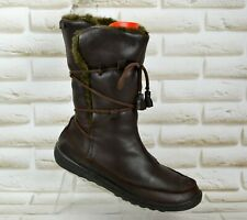 CAMPER Womens Brown Leather Winter Mid-Calf Outdoor Winter Boots Size 6 UK 39 EU