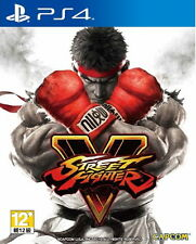 New Sony PS4 Street Fighter V Asia HK Version Chinese/English/Japanese Subtitle