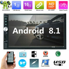 7 inch Double 2 DIN In Dash Car Stereo Bluetooth Radio Head Unit mp5 Player
