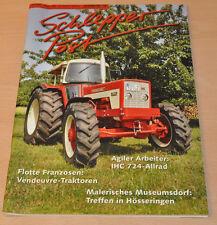 Schlepper Post  5/2009 Zeitschrift 09 IHC 724 Allrad  Venddeuvre Traktoren
