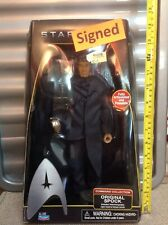 Playmates star trek Original Spock Figure Signed