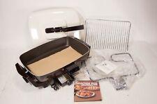 Nos New Vintage West Bend Convection Plus Browner Skillet Oven Grill Rare