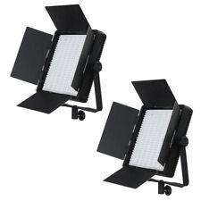 2x NANGUANG Bi-Color LED Flächen-Licht CN-600CSA Video-Lampe Foto-Studio-Leuchte
