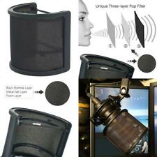 Pop Filter, Sywon Upgraded Three Layers Microphone Pop Filter Metal Mesh And Foa