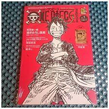 One Piece Magazine vol.1 -20th Anniversary- Manga Novel + Bonus / Wanted Poster