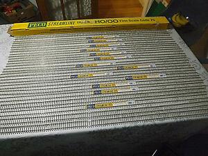 Peco Streamline OO gauge 17X  lengths SL-102F Concrete Sleeper flexible track,