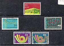 Liechtenstein Europa CEPT series del año 1969-73 (AT-698)