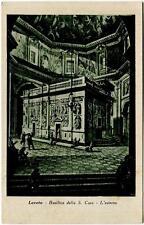 1939 Loreto - Esterno Basilica della S. Casa dest. Fossano - FP B/N VG ANIM