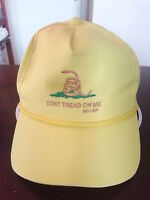 Don't Tread On Me / Old Navy Saying / Military Ball Cap Hat / New