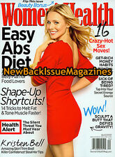 Women's Health 4/12,Kristen Bell,April 2012,NEW