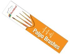Humbrol AG4250 Palpo Assorted Paint Brush Pack Sizes 000,0,2,4 - 1st Class Post