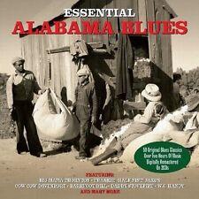 ESSENTIAL ALABAMA BLUES - 50 ORIGINAL CLASSICS (NEW SEALED 2CD)