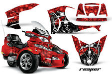 AMR RACING GRAPHICS DECAL WRAP KIT FOR BRP CANAM SPYDER RT CAN-AM, GRIM REAPER R