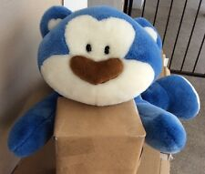 "Morning Glory Blue Bear Large 22"" Stuffed Animal Plush *SEE PICS*"