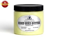 HEMP SEED BUTTER ORGANIC EXPELLER PRESSED PREMIUM QUALITY FRESH PURE 48 OZ