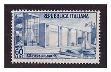 ITALIA  1952 -  FIERA DI MILANO  NUOVO **