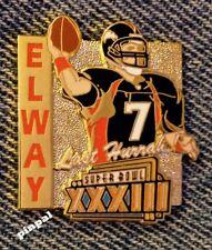 John Elway Pin~MVP~Last Hurrah~Super Bowl XXXIII~Denver Broncos~NFL