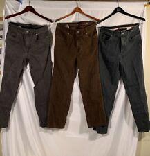 3x Lot Hiltl 34 x 30 ZE 500 Ultimate Trousers Flex Denim Jeans Pants