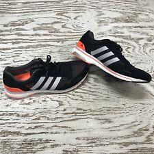 Adidas Boost Adizero Adios 3 Running Shoes Black / Solar Orange Size 13 CG3042