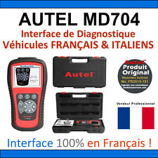 AUTEL MAXIDIAG Elite 704 - Valise Diagnostique MULTIMARQUES PRO Diag Valise OBD2