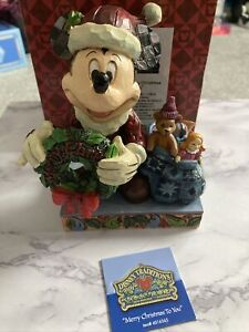 Disney Traditions Showcase Mickey Merry Christmas To You