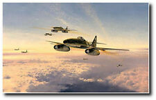 Stormbirds Over the Reich by Robert Taylor - Me-262's with 3 extra Sigatures